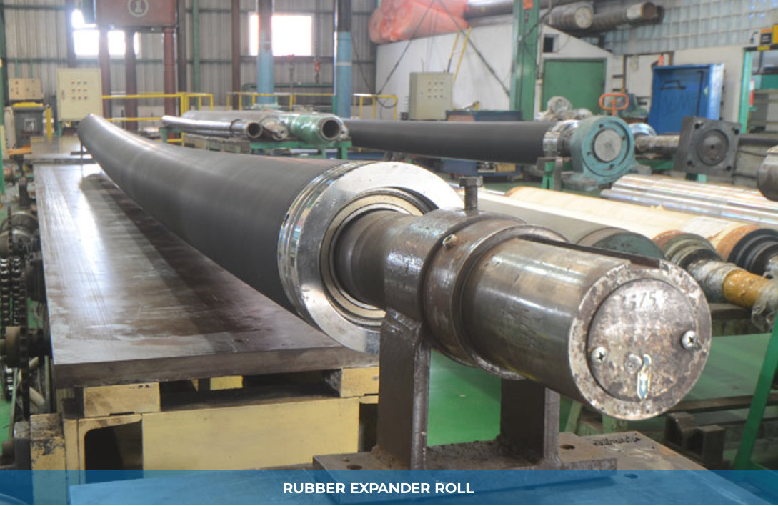 RUBBER EXPANDER ROLL
