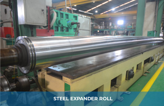 STEEL EXPANDER ROLL