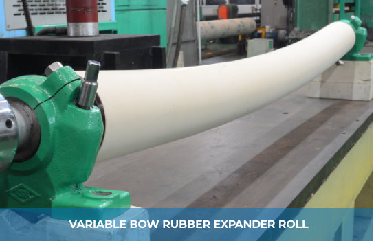 VARIABLE BOW RUBBER EXPANDER ROLL
