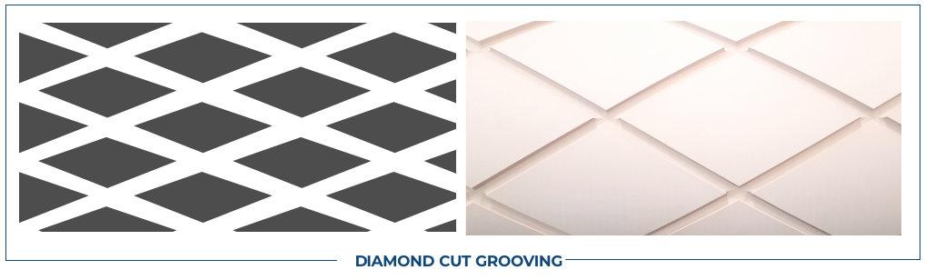 DIAMOND CUT GROOVING